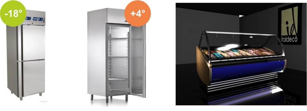 Conservazione e durata del prodotto gelateria in for Domande da porre a un costruttore domestico personalizzato